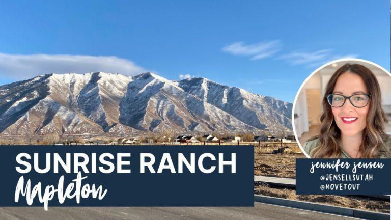 Sunrise Ranch in Mapleton Utah