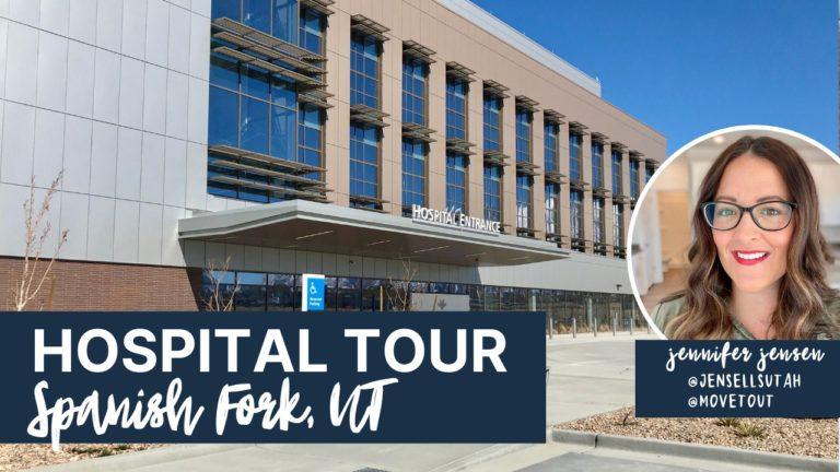 Tour of New Spanish Fork Hospital